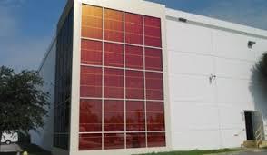 Solar Panel Curtains Konarka Runs Solar Curtain Wall Pilot Greentech Media