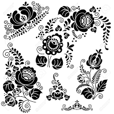floral ornament made vector image royalty free cliparts