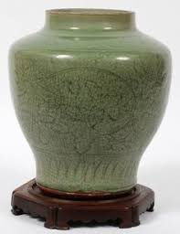 Chinese Celadon Vase A Rare Antique Ming Longquan Celadon Glazed Vase Chinese Rare And