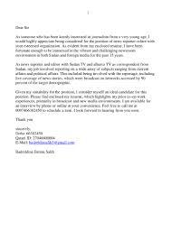 Television Reporter Resumes Sample Correspondent Resume Resume Cv Cover Letter