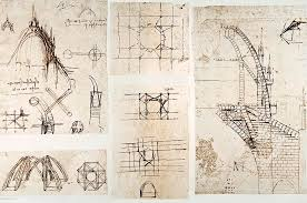 milan cathedral floor plan leonardo s designs for milan cathedral photograph by sheila terry