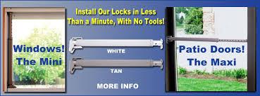 Security Lock For Sliding Patio Doors Wedgit Sliding Glass Door Lock Slidingpatiodoorlock
