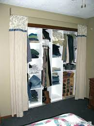 closet behind bed curtain for closet as curtain closet behind bed madebyni co