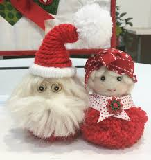 mr and mrs claus think crafts by createforless