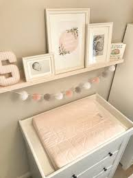 Pink Changing Table by Baby Sienna U0027s Nursery Reveal