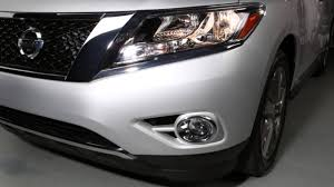 pathfinder nissan 2014 2015 nissan pathfinder headlights and exterior lights youtube