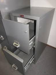 lot detail murphy fireking fireproof 2 drawer locking file cabinet