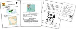 gandhi free worksheets notebook pages homeschool den