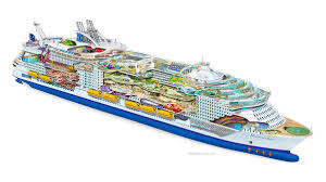 royal caribbean harmony of the seas royal caribbean cruise line harmony of the seas on behance