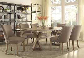 dining room best rustic dining table round glass dining table in