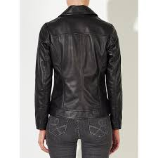 john lewis betsy leather biker jacket john lewis