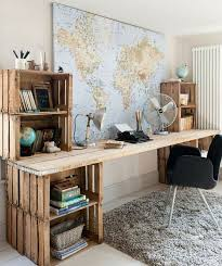 Travel themed furniture home designing ideas
