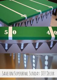 Diy Football Decorations 170 Best Super Bowl Party Decorations Images On Pinterest