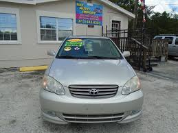 lexus of tampa bay specials bay auto import corp 2004 toyota corolla tampa fl