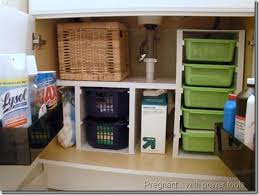 Under Bathroom Sink Cabinet by Build Some Under The Sink Storage Under Bathroom Sink Storage