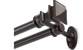 top 5 best double curtain rods in 2018