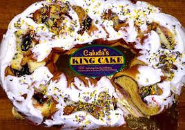 where to buy king cake king cake in store price new orleans caluda s king cake