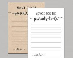 advice to the cards advice cards etsy