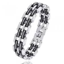 man titanium bracelet images Cool men 39 s fashion watchband titanium bracelet zivpin jpg