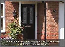Green Upvc Front Doors by Composite Doors Tunbridge Wells Glass Works Front Doors