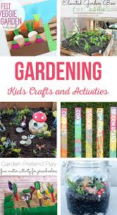 garden kids crafts and activities the crafting