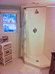 L Shaped Shower Curtain Rod How To Make An Industrial Style Curtain Rod