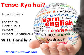 tense chart in hindi with examples english grammar exercises