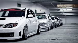 stanced subaru iphone wallpaper cars lexus parking lot stance subaru impreza wrx sti toyota tuning