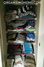 realistic linen closet organization organizing moms