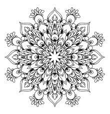 buy diy grey ink mandala flowers tattoo design mandala