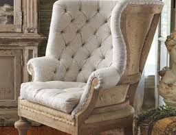 Accent Wingback Chairs Fontaine Wingback Chair Rustic Armchairs And Accent Chairs Inside
