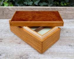 personalized wooden keepsake box wooden keepsake box w small lift out tray cherry and bubinga