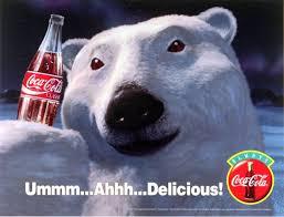 Coke Bear Meme - coca cola polar bear