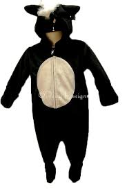 Baby Skunk Halloween Costume Le Chat Noir Boutique Skunk Stinker Baby Costume Sz 6 9