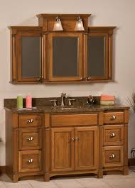 Mirrored Medicine Cabinet 3 Doors Woodpro Breakfront Vanity Free Shipping On All Traditional