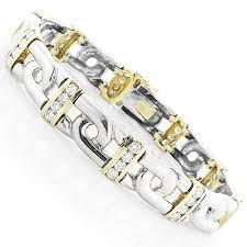 white gold yellow gold bracelet images Mens gold bracelets with diamonds google search men 39 s jpg