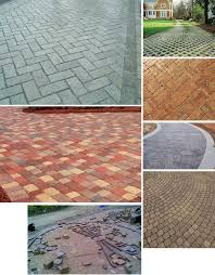 how to lay pavers for a patio laying a brick driveway the home depot community