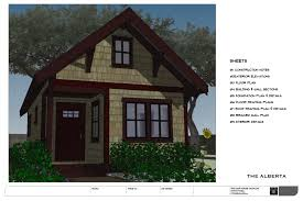 Small Cottage Plan No 32 The Alberta Backyard Bungalow House Plan U2014 Small House