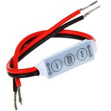 12 Volt Led Lighting Strips by Asunflower Led Dimmer Controller 12v Switch On Off Led Strip Light