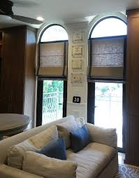 ford window treatments custom roman shades with linen fabric and