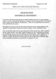 cuban missile crisis john f kennedy presidential library u0026 museum