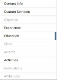Resume Activities Section Resume Building With Students On Slash Cv Tech Tips For Teachers