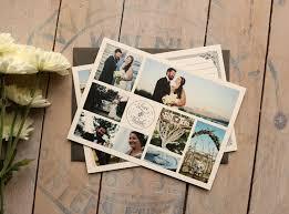 wedding thank you cards photo thank yous vintage wedding