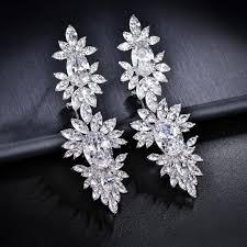 dangle diamond earrings royal marquise cz diamond dangle earrings drop earrings