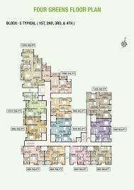 floor plan arun excello group of companies temple green at