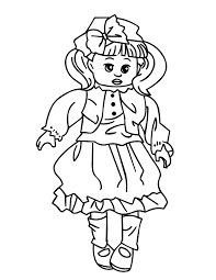 doll coloring pages virtren com