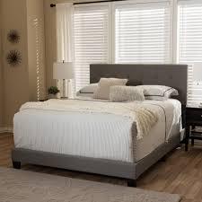 Amazon Fabric Bed Frames Baxton Studio Bed Catapreco