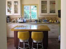 Yellow Retro Kitchen Chairs - retro pale yellow kitchen chairs on modern retro style kitchen