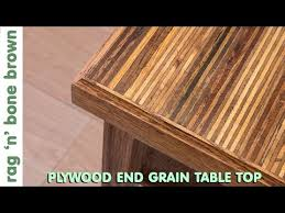 Diy End Grain End Table 21 A Plywood End Grain Table Top From Offcuts Part 1 Of