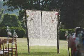 wedding backdrop altar wedding altar alternatives the celebration society